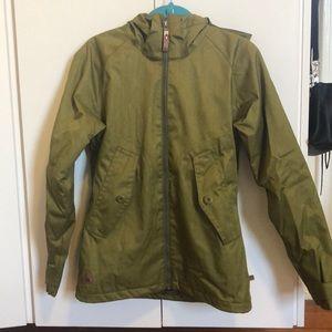 Olive Green Burton's DryRide Ski/Board Jacket